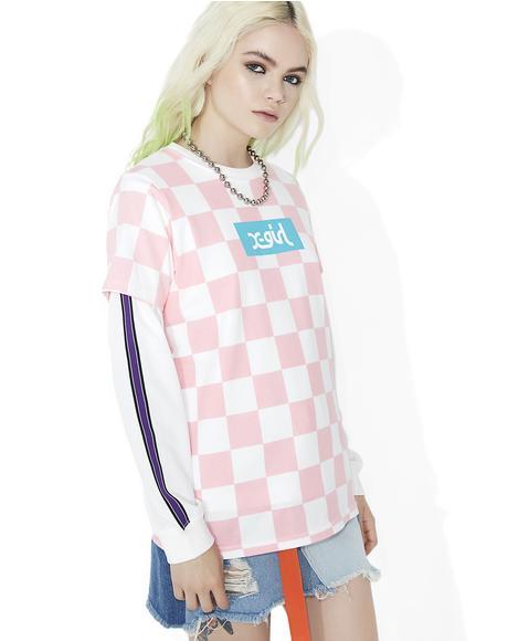 Checkered Short Sleeve Tee