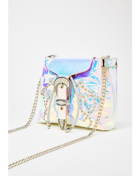 Supernova Cowgirl Hologram Bag