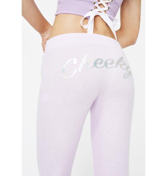 Sugar Thrillz Cheeky Lil Angel Sweatpants