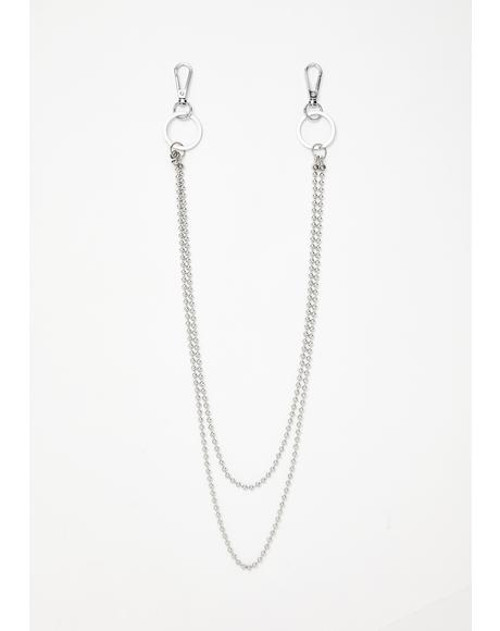 So O-ver U Chain Necklace