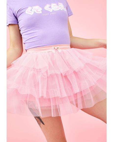 Top Tier Princess Layered Tutu