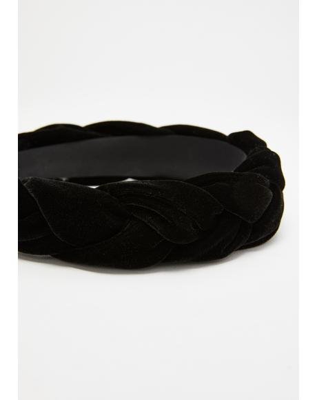 Blair Velvet Braid Headband
