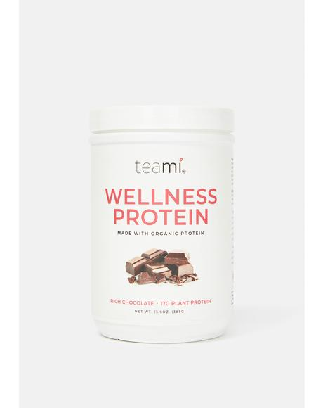 Chocolate Organic Plant-Based Wellness Protein
