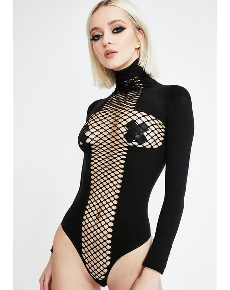 On The Run Masked Bodysuit