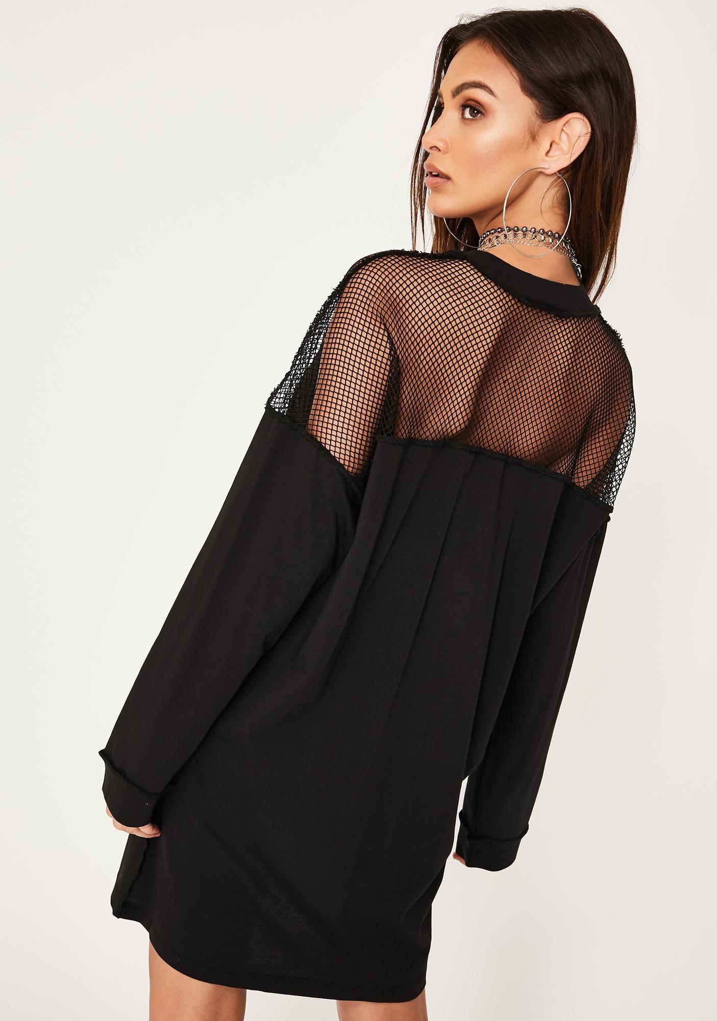 The Ragged Priest Kink Fishnet Dress