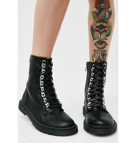 I Don't Play Combat Boots