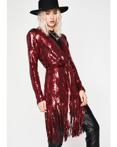 Love Ibiza Nights Sequin Duster