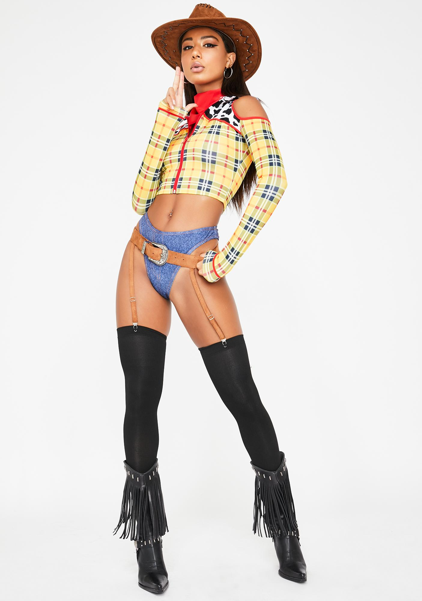 Playtime Sheriff Costume Set