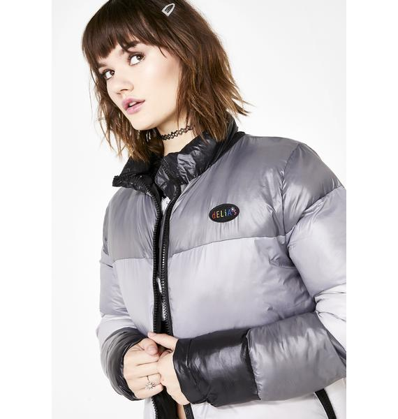 dELiA*s by Dolls Kill In The Past Lane Puffer Jacket