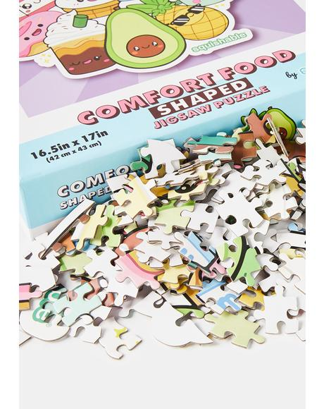 Comfort Food Shaped Jigsaw Puzzle