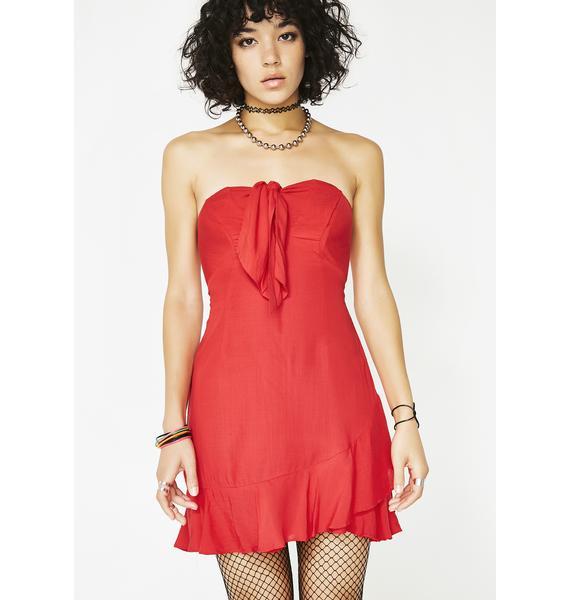 Devil In A Mini Dress