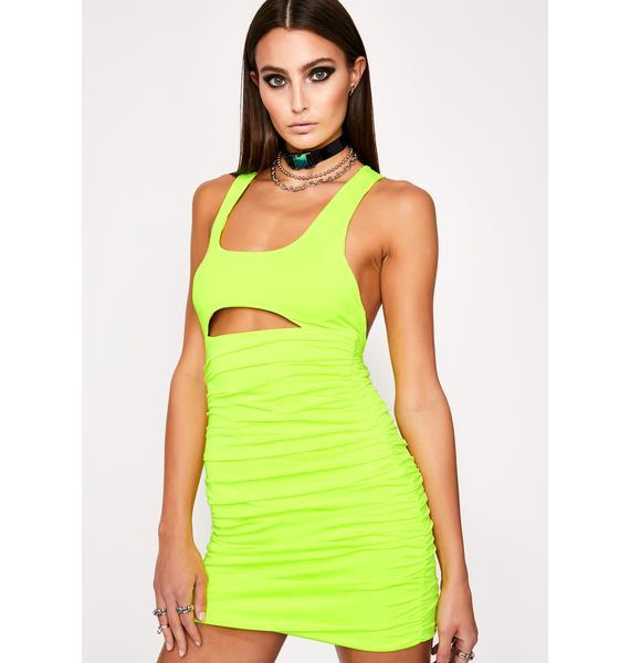 Electrik Cuz I Slay Mini Dress