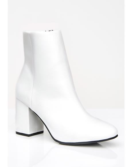 Icy Pretty Bish Ankle Boots