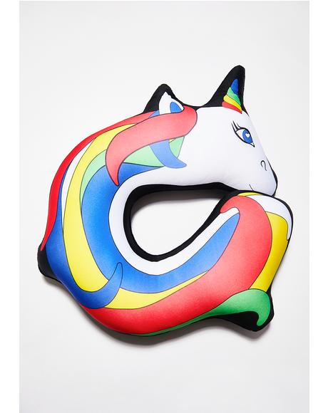 Unicorn Memory Foam Neck Pillow