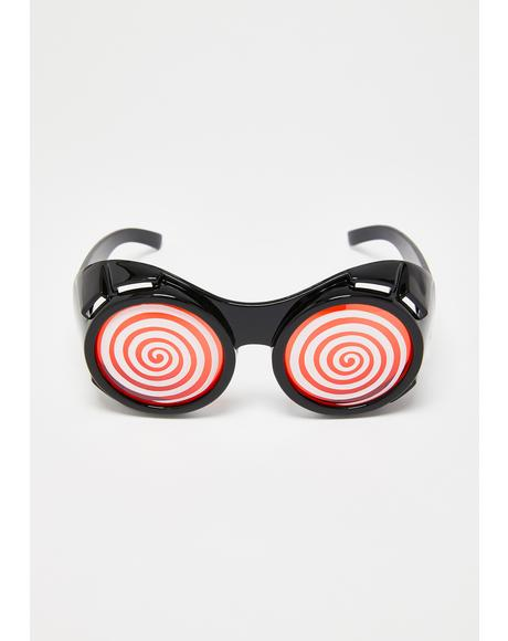 Swirl World Goggles