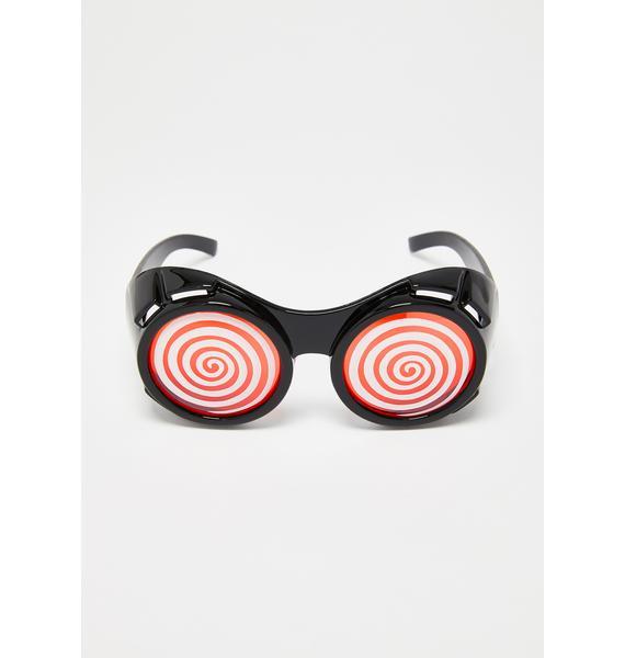 Swirl World Goggles