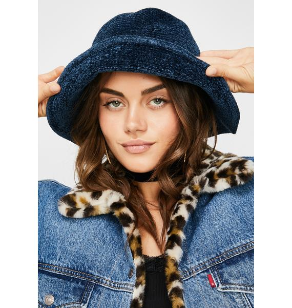 Chill Daze Off Knit Bucket Hat