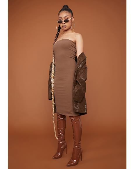 Not So Cheap Date Bodycon Tube Dress