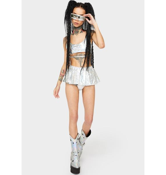Ethereal Vixen Shorts Set