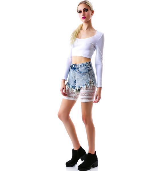 I Want To Ride Biker Shorts