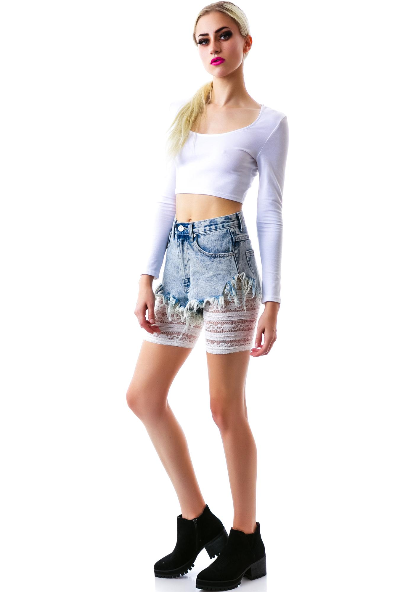I Want To Ride Biker Shorts