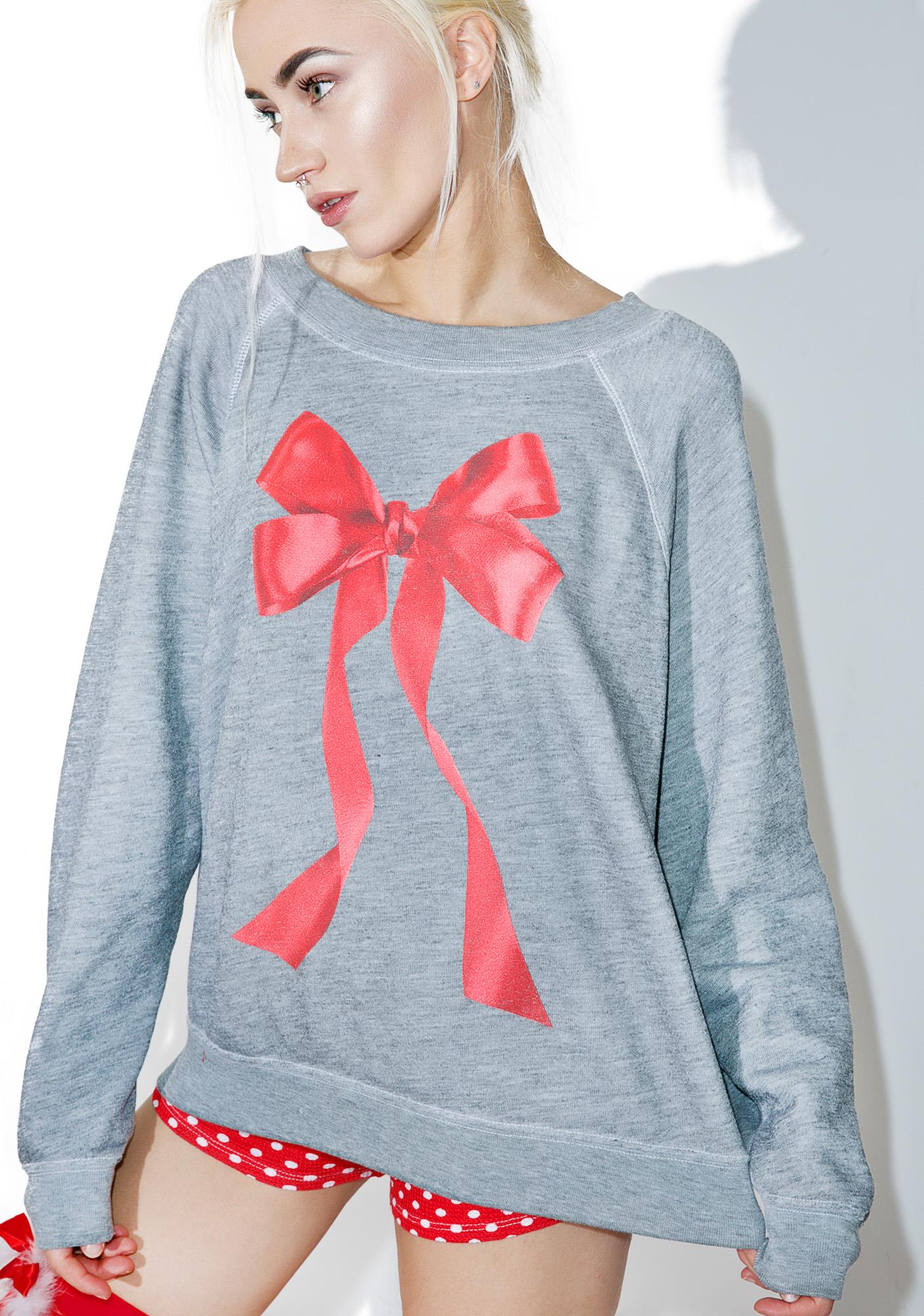 Wildfox Couture I'm The Present Sommers Sweater