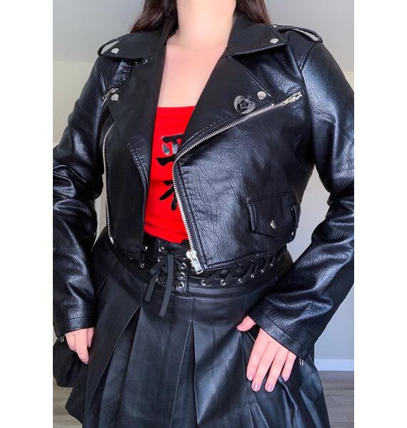 Current Mood Got Hell To Pay Moto Jacket