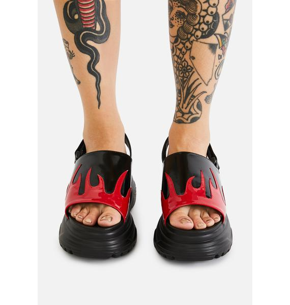 Koi Footwear Ebo Flame Sandals