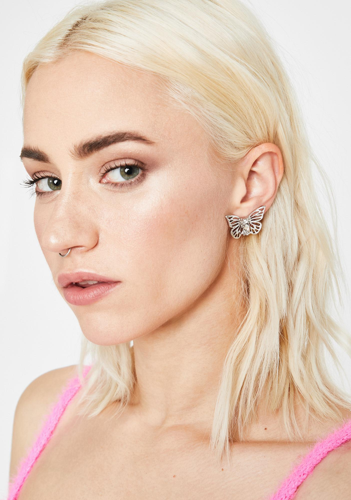 Monarch Babe Stud Earrings