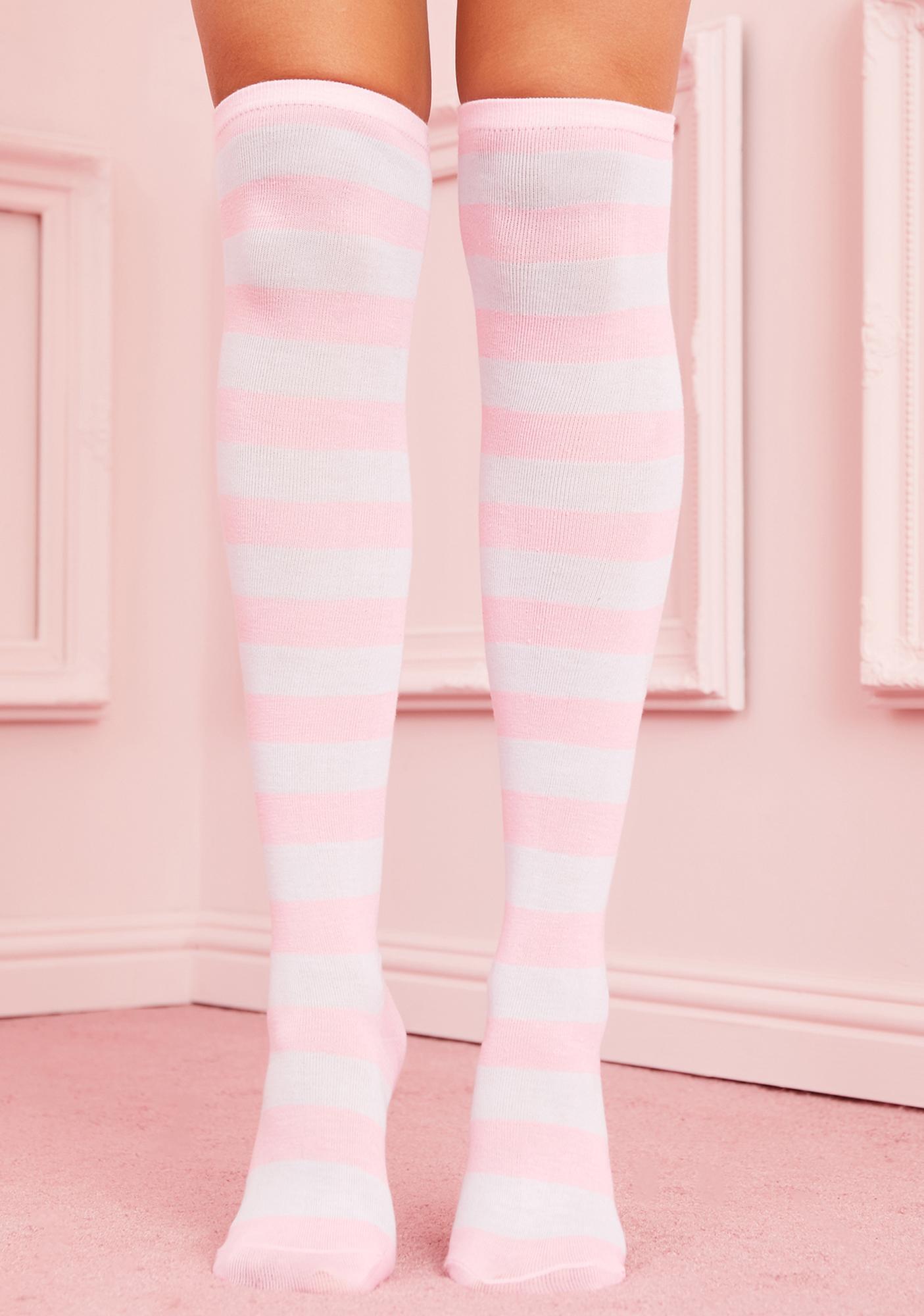 Baby Be My Boo Striped Socks