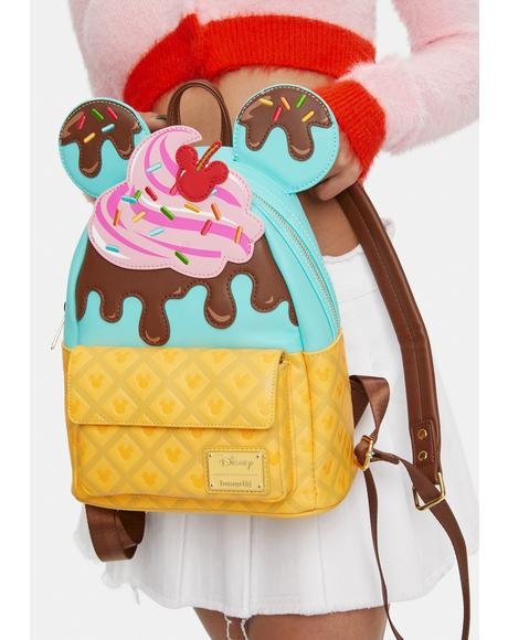 Mickey & Minnie Sweet Treats Backpack