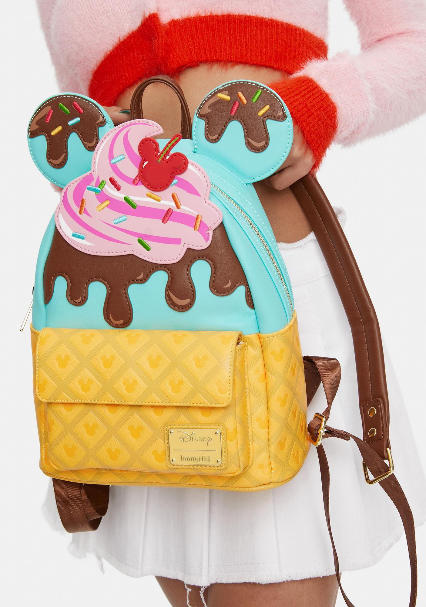 Loungefly Mickey & Minnie Sweet Treats Backpack