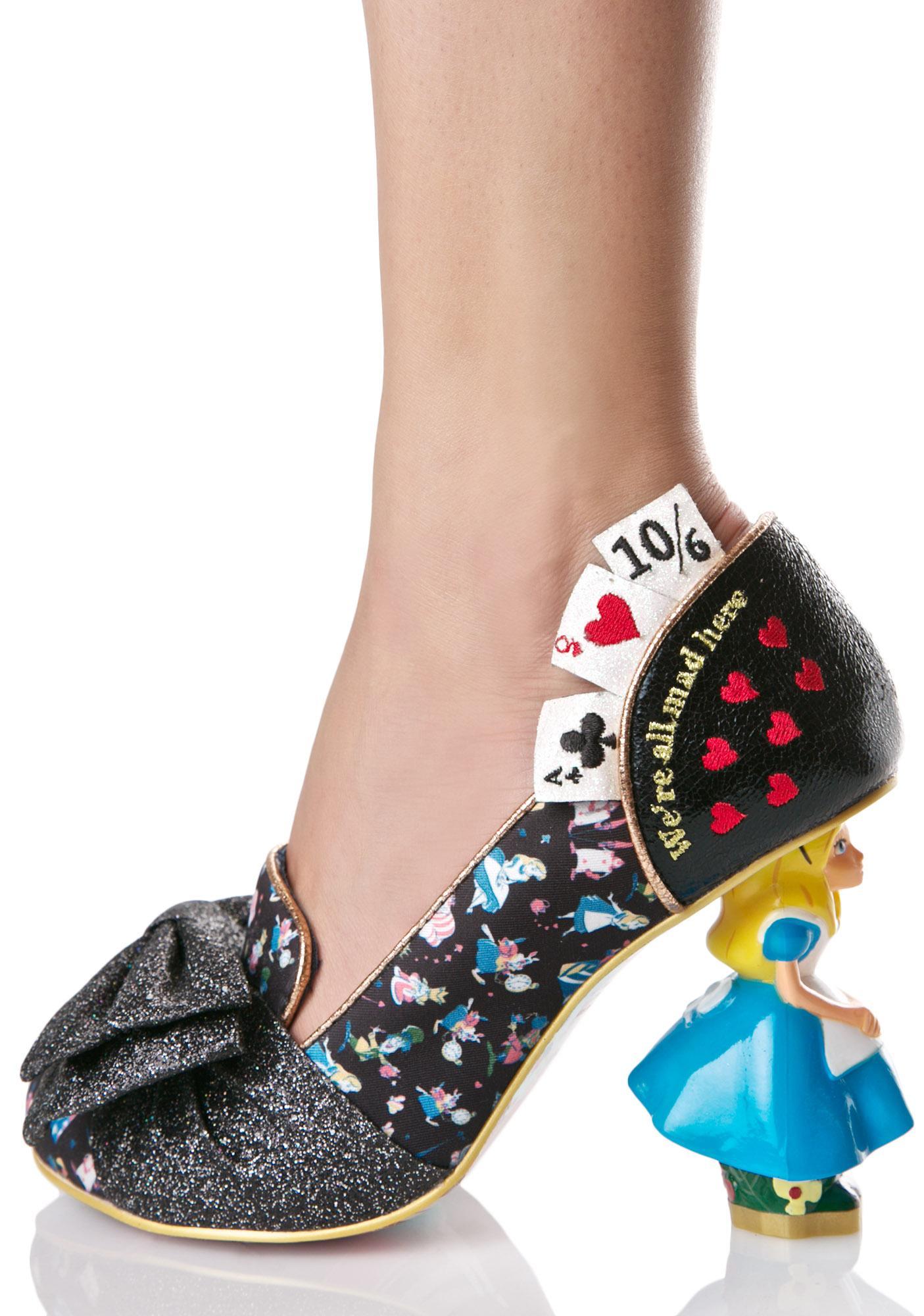 irregular choice wonderland this way heels dolls kill. Black Bedroom Furniture Sets. Home Design Ideas