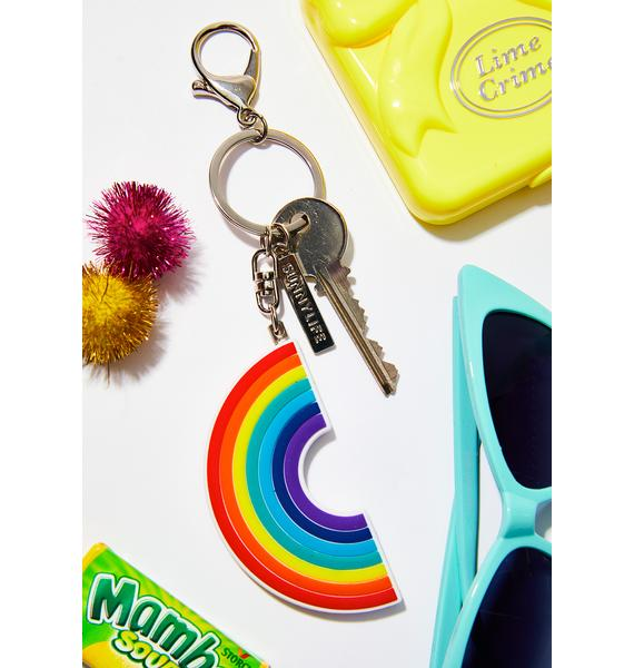 Colorful Rainbow Keychain