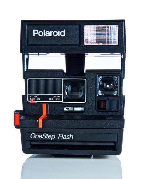 Polaroid 600 Red Stripe Camera