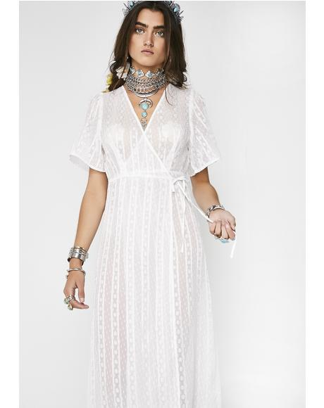 Whimsical Mind Sheer Dress