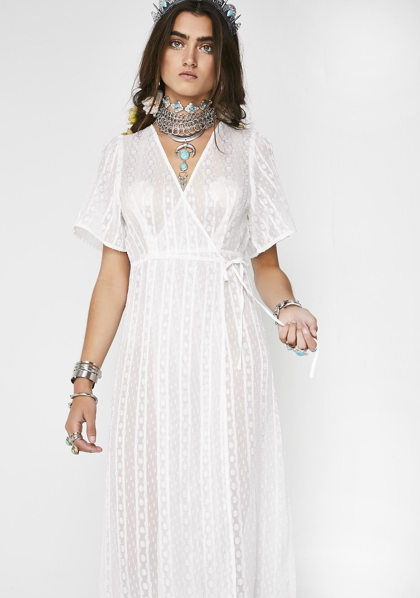 Whimsical Mind Sheer Dress