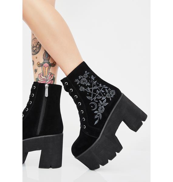 Killstar Gaia Boots