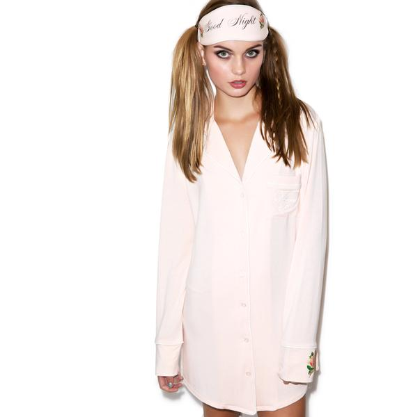 Wildfox Couture Goodnight Sleep Shirt