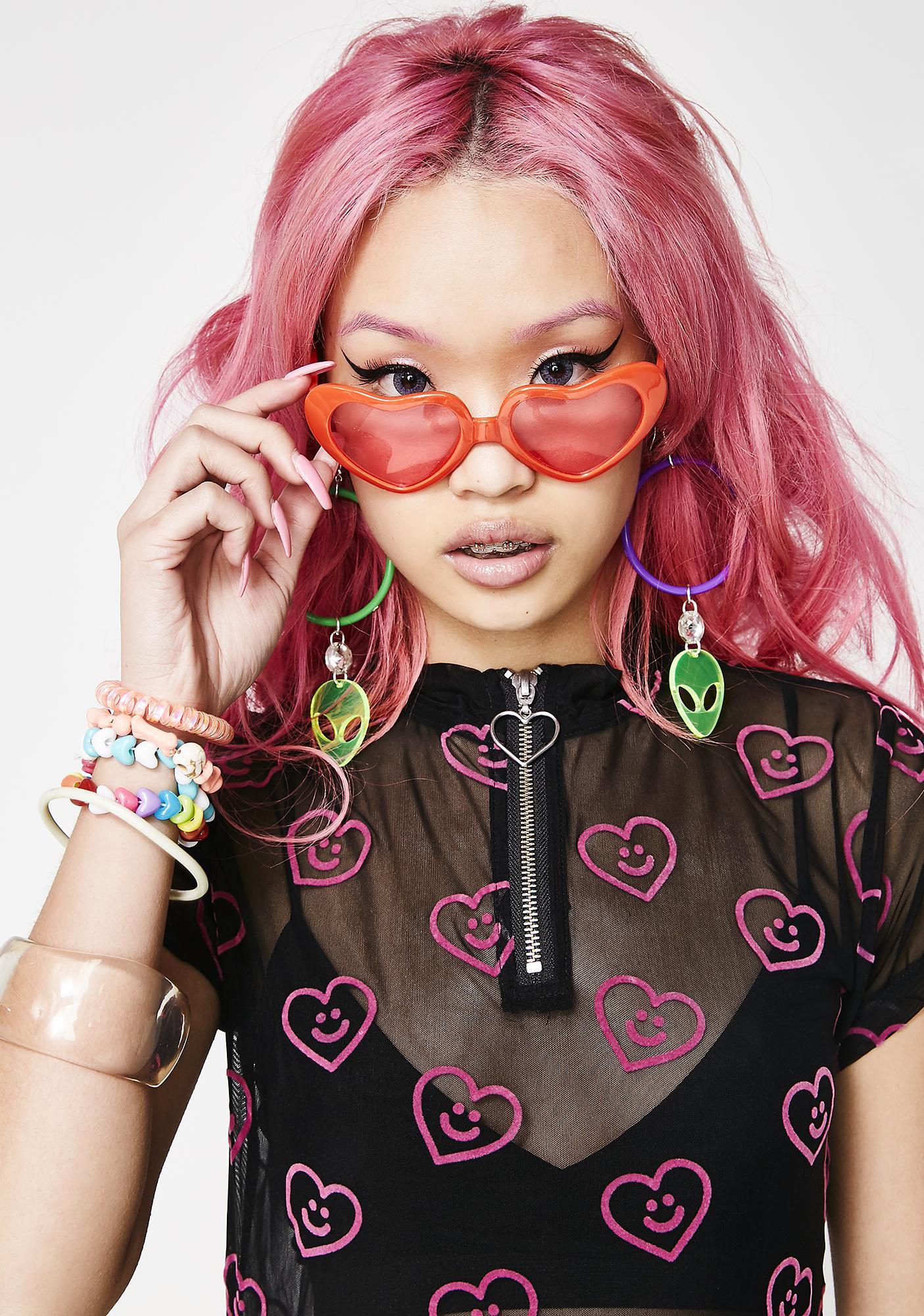 45b986c5f5 ... Spread The Love Heart Sunglasses
