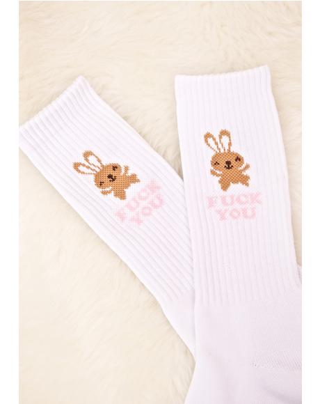 Bunny Cute Sock