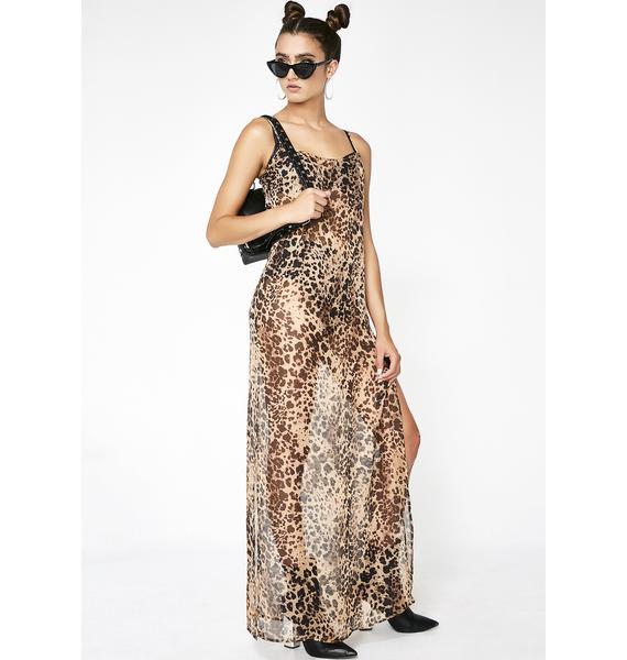 Cheetah Dolls Leopard Maxi