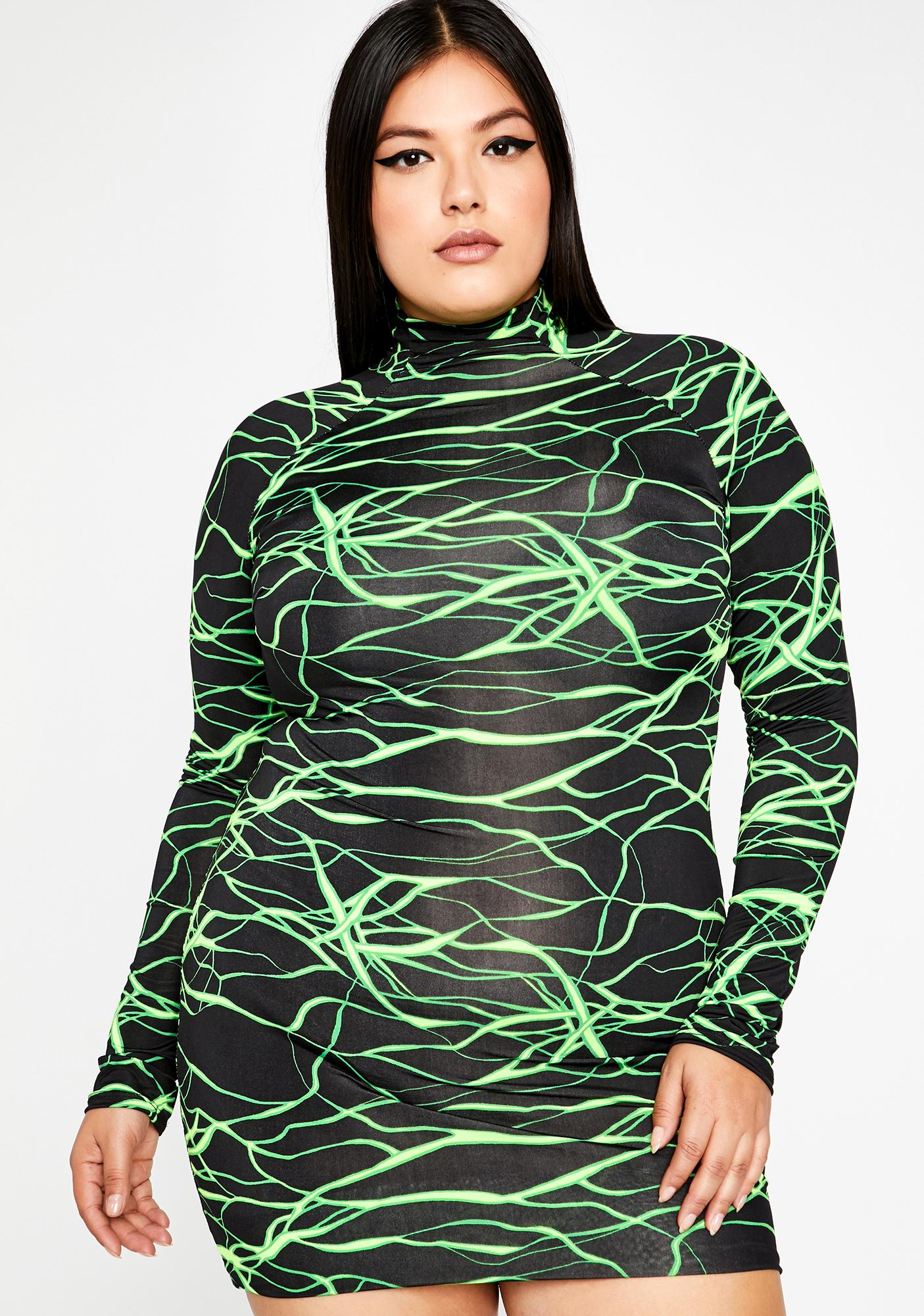 Epic Futuristic Zone Mini Dress by
