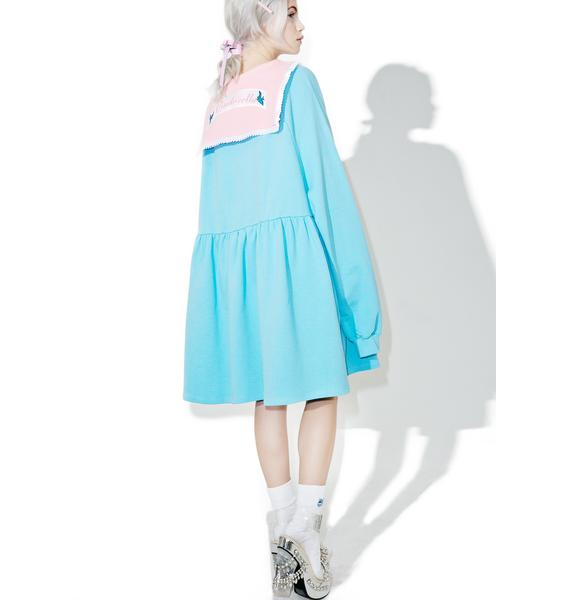 Lazy Oaf X Disney Cinderella Sweater Dress