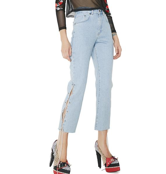 The Ragged Priest Money Jeans