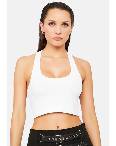 Angel Spread Good Vibes Crop Top