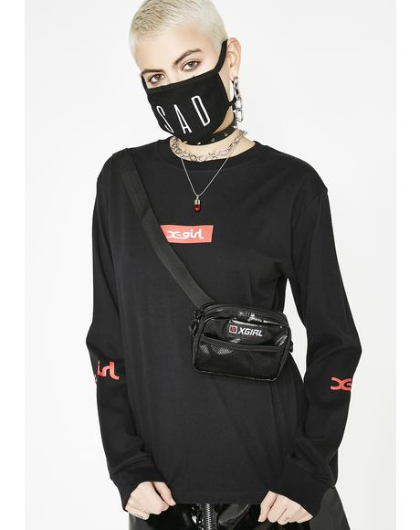 Box Logo Long Sleeve Tee
