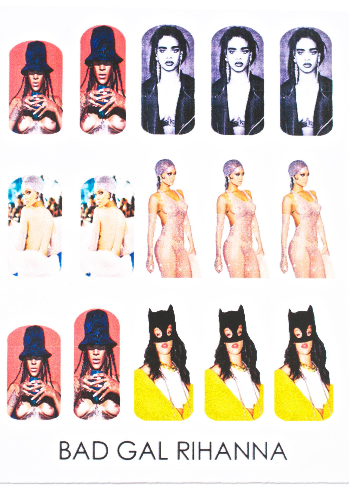 Bad Girl RiRi Nail Decals
