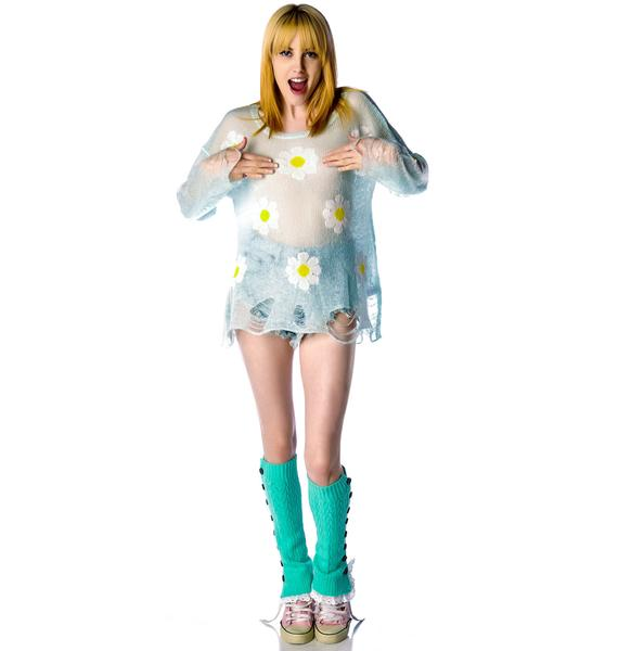 Wildfox Couture Daisy Fest Lennon Sweater