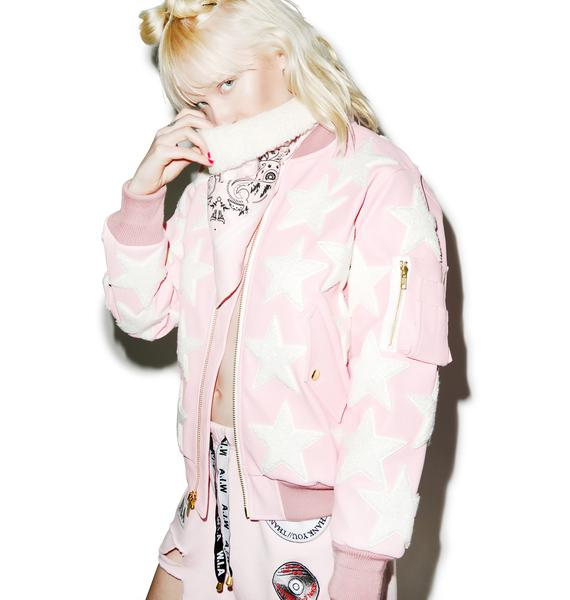 Joyrich All Star Patched Candy Jacket